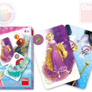 DINO Hra karty Černý Petr Disney Princezny v krabičce *SPOLEČENSKÉ HRY*