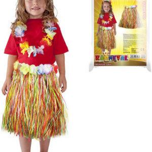 KARNEVAL Sukně Hawaii dětská 45cm (104-150cm) 3-10 let *KOSTÝM*