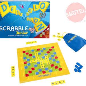 MATTEL Hra Scrabble Junior  * SPOLEČENSKÉ HRY *