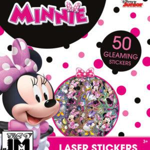 JIRI MODELS Samolepky super třpytivé Disney Minnie Mouse