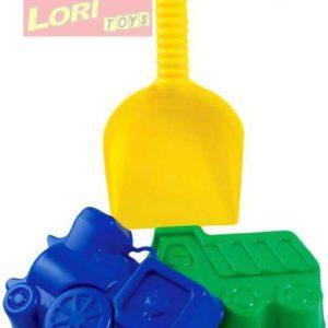LORI 204 Lopatka + 2 bábovičky na písek