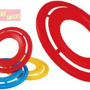 LORI 209 Létající prstenec 3 barvy Na házení PLAST