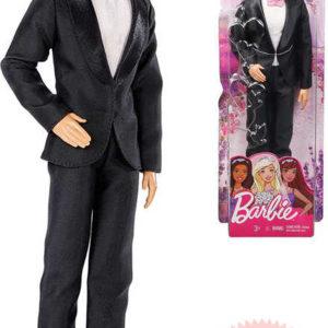 MATTEL BRB Barbie svatební den Ken panák ženich v obleku