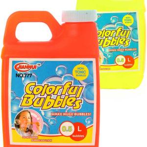 Náplň náhradní do bublifuku 500ml plastový kanystr 2 barvy