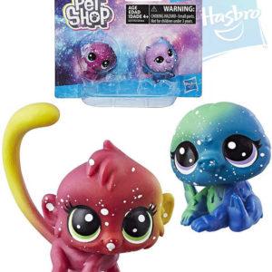 HASBRO LPS Liittlest Pet Shop zvířátko kosmické set 2ks 3.serie plast