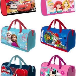 Taška dětská sportovní přes rameno 37x21x20cm Disney motivy 6 druhů