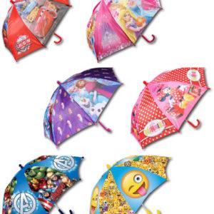 Deštník dětský Disney 65cm manuální otevírání 6 druhů
