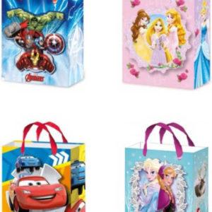 Taška dětská dárková 27x32cm Disney motivy 4 druhy