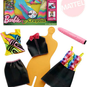 MATTEL BRB Barbie D.I.Y. Crayola magický vzor návrhářské studio 2 druhy