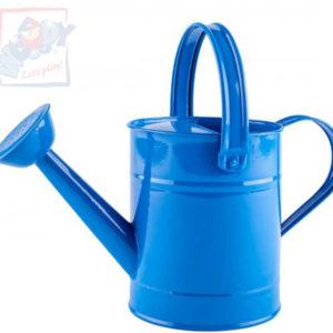 WOODY Konev dětská kropící modrá 29cm plechová 1,5 l s kropítkem