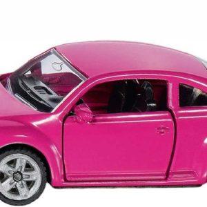 SIKU Auto Volkswagen Beetle růžový set s nálepkami model kov 1488