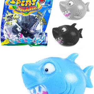 Míček žralok vodní bomba 5cm mačkací v sáčku 3 barvy