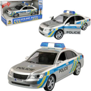 Auto policejní osobní český design policie ČR na baterie 1:16 Světlo Zvuk