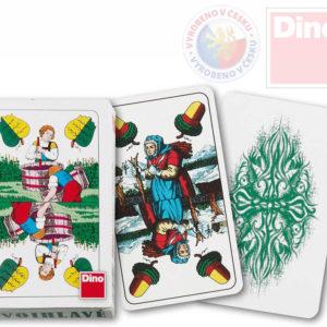 DINO HRA Karty hrací dvouhlavé Mariáš *SPOLEČENSKÉ HRY*