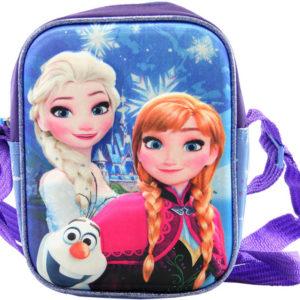 Taštička dětská přes rameno 3D efekt Frozen (Ledové Království) holčičí