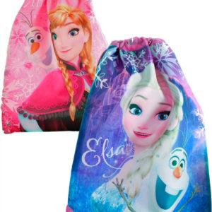 Sáček dětský batoh Frozen (Ledové Království) pytlík 2 druhy pro holky