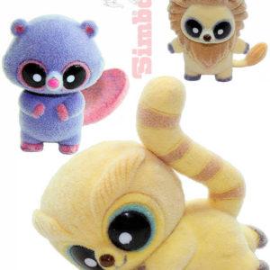 SIMBA Yoo Hoo zvířátko semišové sběratelské YooHoo & Friends různé druhy