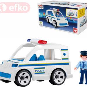 EFKO IGRÁČEK MultiGO Policista set policejní auto s figurkou STAVEBNICE