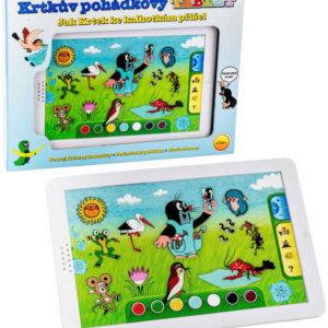 Dětský baby tablet naučný KRTEK (Krteček) dotykový na baterie pohádkový