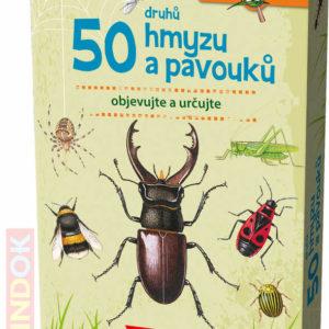 MINDOK HRA kvízová Expedice Příroda: 50 druhů hmyzu a pavouků naučná