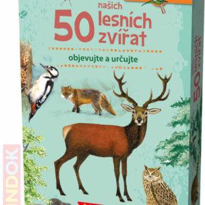 MINDOK HRA kvízová Expedice Příroda: 50 našich lesních zvířat naučná