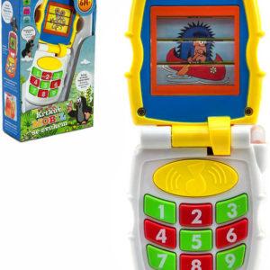 Baby mobil vyklápěcí měnící obrázky Krtek (Krteček) na baterie Světlo Zvuk