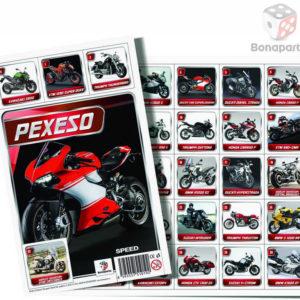 BONAPARTE Pexeso Moto Speed Motorky fotografie SPOLEČENSKÉ HRY