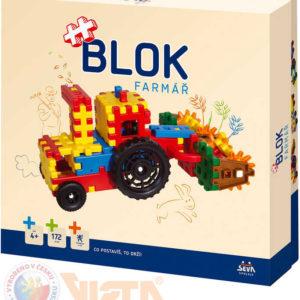 VISTA BLOK Farmář plastová STAVEBNICE 172 dílků v krabici