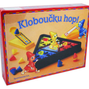 HYDRODATA Hra Kloboučku hop! *SPOLEČENSKÉ HRY*