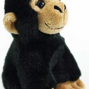 PLYŠ Opice černá 16cm exkluzivní kolekce PLYŠOVÉ HRAČKY