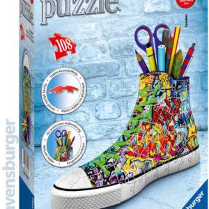RAVENSBURGER Puzzle 3D Kecka Graffiti stojánek vlajková edice 108 dílků