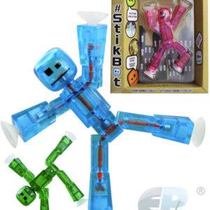 EP Line Stikbot akční figurka plastová samostatná 6 barev v krabičce