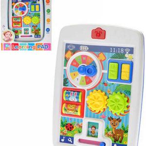 Baby I-pad naučný s aktivitami na baterie Světlo Zvuk pro miminko