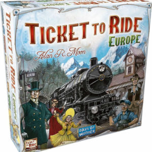 ADC HRA Ticket to Ride: Evropa *SPOLEČENSKÉ HRY*