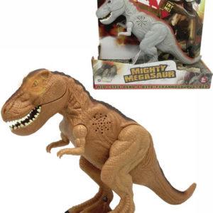ADC Mighty Megasaur akční T-Rex dinosaurus na baterie 2 barvy Světlo Zvuk