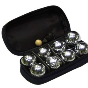 ACRA Petanque mini 8 koulí chromované koule * petangue sada