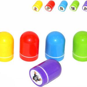 Razítko samonamáčecí Krtek (Krteček) uzavíratelné plast 5 druhů