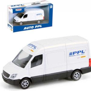 Auto PPL kovové 11,5cm dodávka přepravní služba volný chod