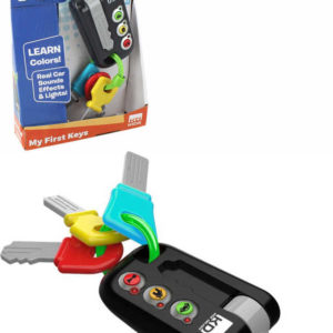 Baby klíče od auta Kooky na baterie Světlo Zvuk pro miminko
