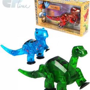 EP line Stikbot Mega dinosaurus akční figurka plastová v krabičce 3 druhy