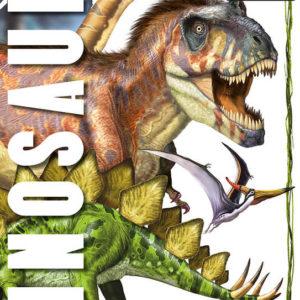JIRI MODELS Omalovánky A4 Dinosauři
