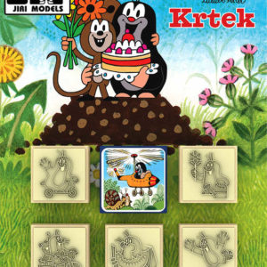 JIRI MODELS Razítka 5+1 Krtek a myška (Krteček)