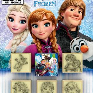 JIRI MODELS Razítka 5+1 Ledové Království (Frozen)