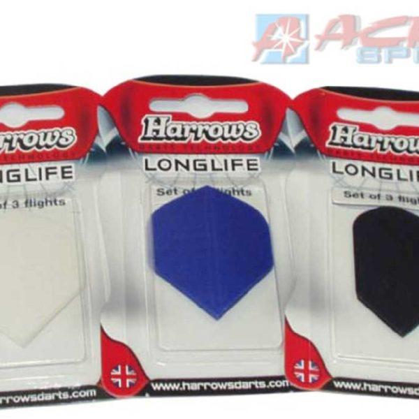 ACRA Náhradní letky k šipkám HARROWS T52 Longlife set 3ks na kartě 3 druhy