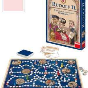 DINO HRA Rudolf II. naučná *SPOLEČENSKÉ HRY*