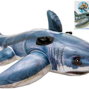 INTEX Žralok nafukovací vozítko do vody s úchyty 57525