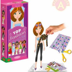 ALEXANDER Oblékni si modelku Top Fashion Modelka 1 kreativní set v krabičce