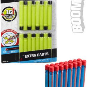 BOOMCO Munice šipky náhradní Smart Stick set 17ks různé barvy plast