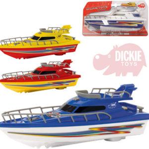 DICKIE Jachta 23cm plastová loďka Ocean Dream na baterie 4 barvy