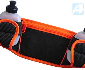 ACRA Sportovní set ledvinka + 2 lahvičky 0,2l s prostorem na mp3